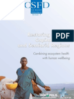 Lacombe Morgane and Aronson James, 2009. Restoring natural capital in arid and semiarid regions combining ecosystem health with human wellbeing