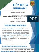 PPT Gestion de La Seguridad I Semana 5