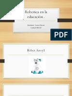 Comparto 'Robotica en La Educación' Con Usted