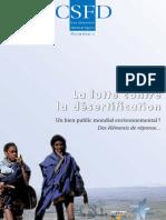 Requier-desjardins Mélanie et Caron Patrick, 2005. La lutte contre la désertification