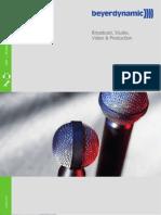 Beyerdynamic 2006-2007 Catalog
