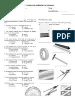 Drafting-Tools-and-Materials-Quiz
