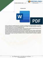 S1 - Introducción a Microsoft Word