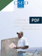 Bied-Charreton Marc et Requier-Desjardins Mélanie, 2007. Sciences et société civile dans le cadre de la lutte contre la désertification