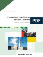 Leitfaden Schutz Kritischer Infrastrukturen En