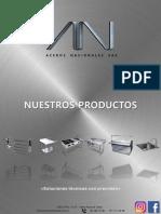 Catálogo de Productos Aceros Nacionales