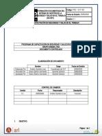 Programa de Capacitaciòn en SST