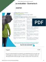 Examen_ Actividad de puntos evaluables - Escenarios 6