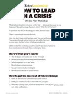 Lead In Crisis Guide