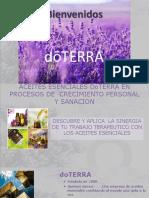 ACEITES ESENCIALES Y PROCESOS DE SANACION PRESENTACION