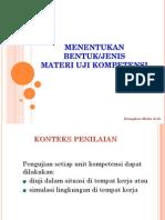 Daftar materi uji1