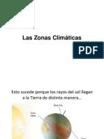 Clase Las Zonas Climaticas