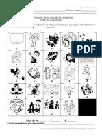 Estilos de aprendizaje primero años blanco y negro