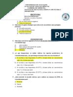 PREGUNTAS MICOLOGÍA MICETOMA-CROMOMICOSIS