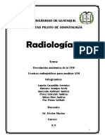 GRUPO 6 RADIOLOGIA DENTAL II