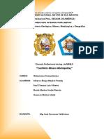 Michiquillay Informe