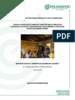 INFORME PLAN DE DESARROLLO CUMARIBO