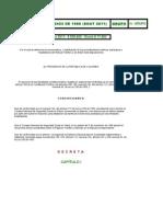 Tarifas Soat 2011 ( Reajustado SMMLV al 4%, 11 de Enero de 2011)