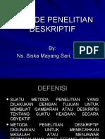 METODE PENELITIAN DESKRIPTIF.ppt