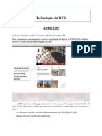 Atelier CSS Technologies WEB INSAT