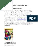 Paris Tonkar Magazine #1