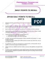 API 653 DAILY POINTS TO RECALL (DAY 5)