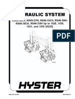 HYDRAULIC SYSTEM (UP TO 1528, 1530, 1531 AND 1532)