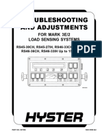 TROUBLESHOOTING AND ADJUSTMENTS FOR MARK 3E2 LOAD SENSING SYSTEMS (UP TO 1536)