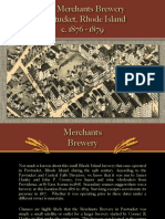 PAWTUCKET - Merchants Brewery