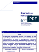 Kapitel 1 - Kapitel 2 Grundlagen der Organisation (1)