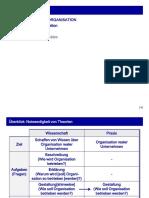Kapitel 6 Theorien der Organisation