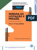 PDF da 3 Aula Semana da Licitação e Pregão