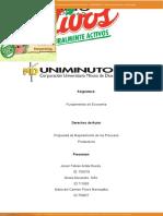 Propuesta de Mejoramiento de los Procesos Productivos ACTIVIDAD 2