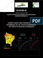 Boletim 9 do Comitê Científico do Consórcio NE