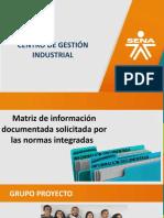 PRESENTACIÓN DE LA MATRIZ INFORMACION DOCUMENTADA
