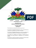 Code Penal Haiti 2020