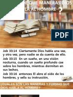CÓMO Y DE QUE MANERAS DIOS HABLA AL HOMBRE.pptx