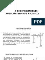 deformaciones angulares en vigas y porticos