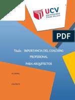 IMPORTANCIA DEl Coaching Profesional en la Arquitectura.docx