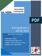 Acción de aguas residuales en el crecimiento de plantas nativas - ESTADISTICA APLICATIVA PA 2