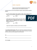 ABAC Questions Form - Spanish