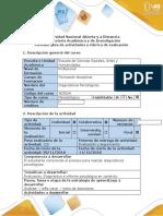 Guia de actividades y rubrica de evaluacion - Fase 5 - Evaluacion Final