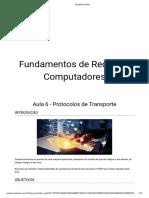 Conteúdo Interativo - Aula 6 - Protocolos de Transporte