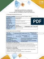 Guía de actividades y rubrica de evaluación - Fase 1 -Modelos de Evaluacion Psicologica