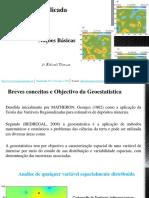 Geoestatitica - Aula 1