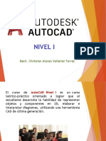 AutoCAD Nivel I Sesion 1