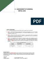 Seccion 4 Valoracion de perdida de metal general
