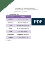 1 Adjetives, Preposition Org