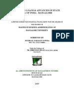 loans & advancess in SBI.doc