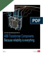 9AKK106103A5741 v2 - Tecnologia de ultima generacion aplicada a los componentes de Transformadores